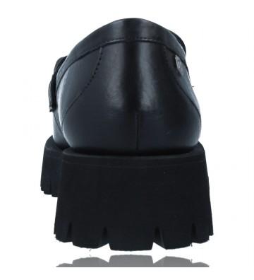 Calzados Vesga Zapatos de Piel Mocasines Casual para Mujer de Carmela 67985 color negro foto 7