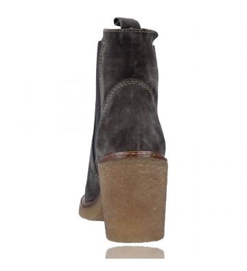 Calzados Vesga Botines de Piel estilo Casual Chelsea para Mujer de Alpe 4396 color gris foto 7