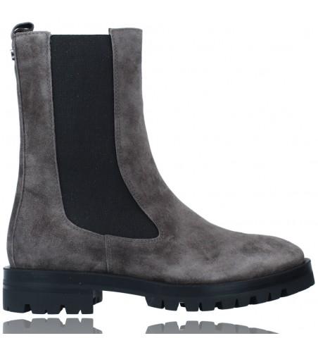 Calzados Vesga Botas de Piel de Estilo Casual para Mujer de Alpe 2041 color gris foto 1