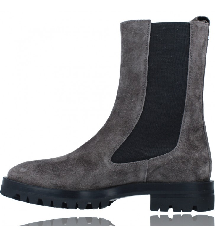 Calzados Vesga Botas de Piel de Estilo Casual para Mujer de Alpe 2041 color gris foto 5