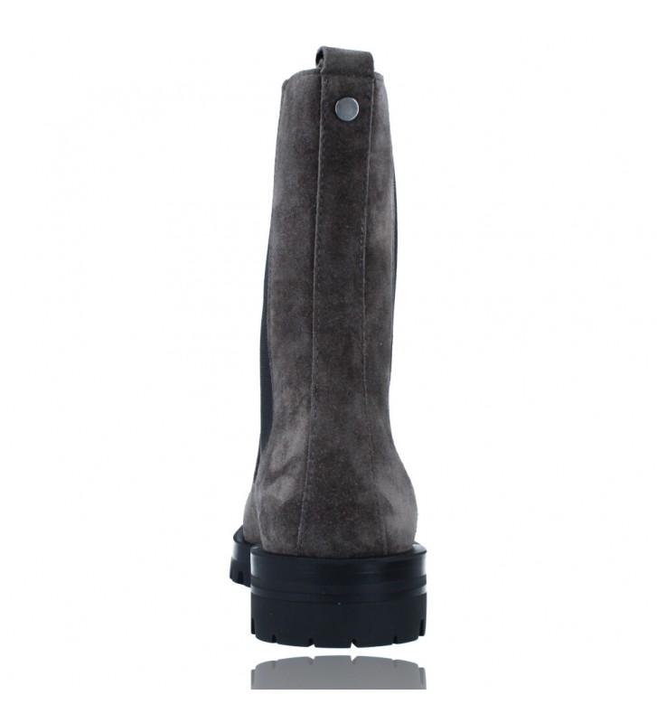 Calzados Vesga Botas de Piel de Estilo Casual para Mujer de Alpe 2041 color gris foto 7