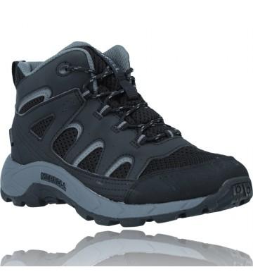 Calzados Vesga Botas Waterproof para Niños de Merrell Oakcreek MK265426 color negro foto 2