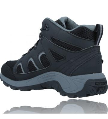 Calzados Vesga Botas Waterproof para Niños de Merrell Oakcreek MK265426 color negro foto 6