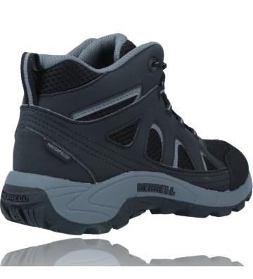 Calzados Vesga Botas Waterproof para Niños de Merrell Oakcreek MK265426 color negro foto 8