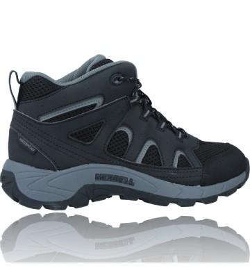 Calzados Vesga Botas Waterproof para Niños de Merrell Oakcreek MK265426 color negro foto 9