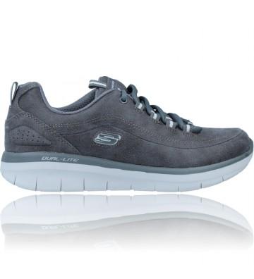 Calzados Vesga Zapatillas Deportivas Sneakers para Mujer de Skechers Synergy 2.0 Comfy Up 12934 color gris foto 1