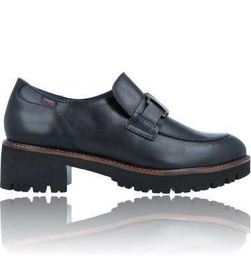 Calzados Vesga Zapatos Mocasines de Piel para Mujer de Callaghan Adaptaction 13438 Cedral color negro foto 1