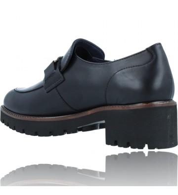 Calzados Vesga Zapatos Mocasines de Piel para Mujer de Callaghan Adaptaction 13438 Cedral color negro foto 6