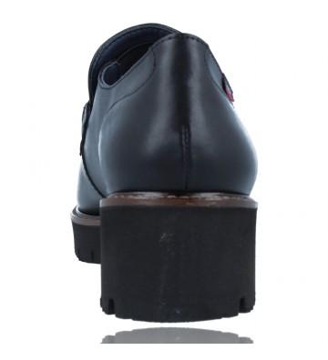 Calzados Vesga Zapatos Mocasines de Piel para Mujer de Callaghan Adaptaction 13438 Cedral color negro foto 7
