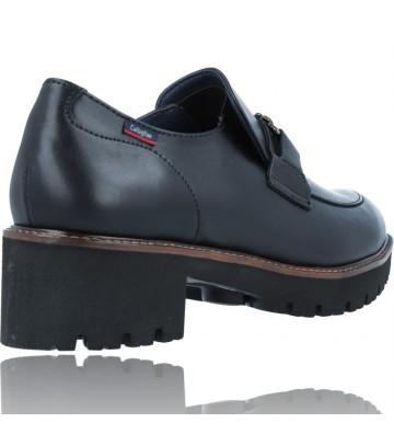 Calzados Vesga Zapatos Mocasines de Piel para Mujer de Callaghan Adaptaction 13438 Cedral color negro foto 8