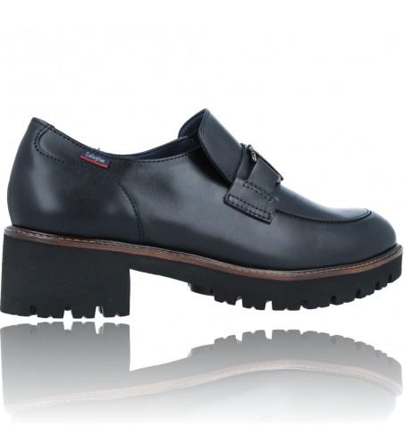 Calzados Vesga Zapatos Mocasines de Piel para Mujer de Callaghan Adaptaction 13438 Cedral color negro foto 9