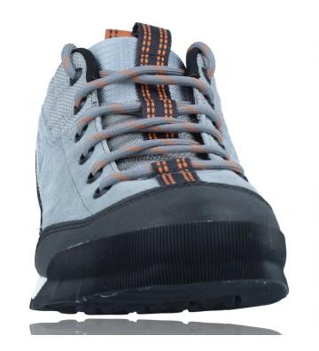 Calzados Vesga Zapatillas Deportivas de Piel para Hombres de Merrell Catalyst Trek J003617 color azul y naranja foto 3