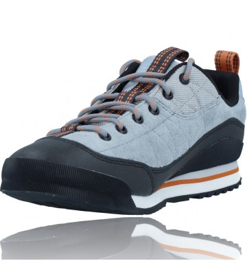 Calzados Vesga Zapatillas Deportivas de Piel para Hombres de Merrell Catalyst Trek J003617 color azul y naranja foto 4