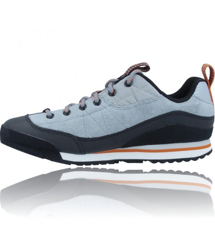 Calzados Vesga Zapatillas Deportivas de Piel para Hombres de Merrell Catalyst Trek J003617 color azul y naranja foto 5