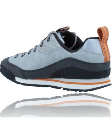 Calzados Vesga Zapatillas Deportivas de Piel para Hombres de Merrell Catalyst Trek J003617 color azul y naranja foto 6
