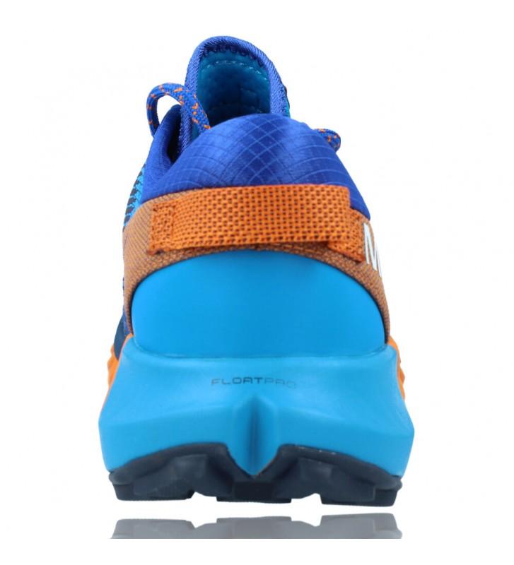Calzados Vesga Zapatillas Deportivas de Trail Running para Hombre de Merrell Agility Peak 4 color azul y naranja foto 7