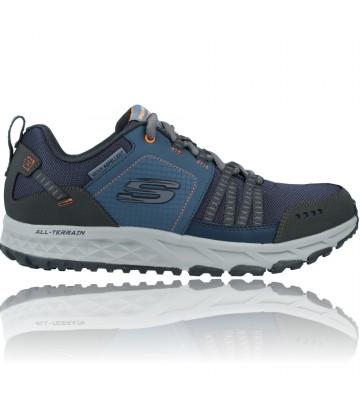 Calzados Vesga Zapatillas Deportivas Outdoor para Hombres de Skechers Escape Plan 51591 color azul foto 1
