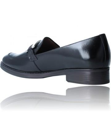 Calzados Vesga Zapatos Mocasines de Piel para Mujer de Wonders A-7250 color negro foto 6