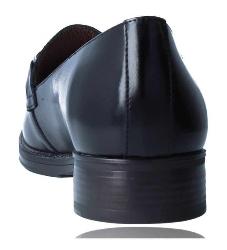 Calzados Vesga Zapatos Mocasines de Piel para Mujer de Wonders A-7250 color negro foto 7