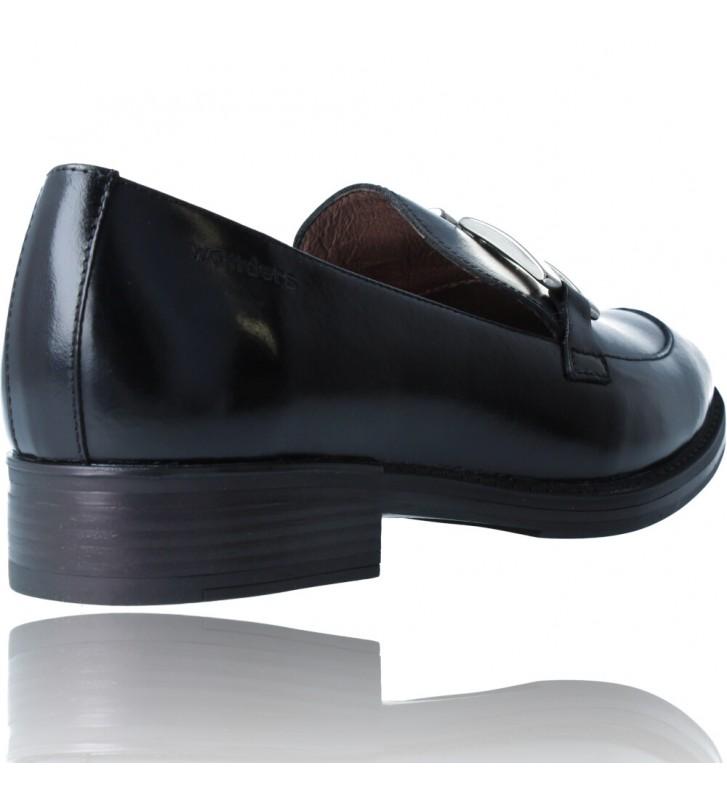 Calzados Vesga Zapatos Mocasines de Piel para Mujer de Wonders A-7250 color negro foto 8