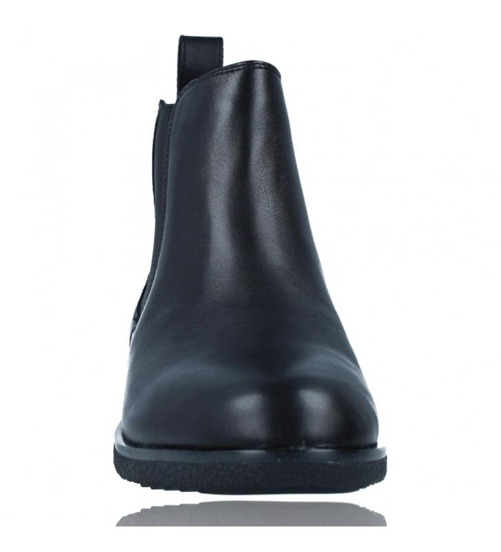Calzados Vesga Botines Casual Chelsea de Piel para Mujer de Clarks Griffin Plaza color negro foto 3