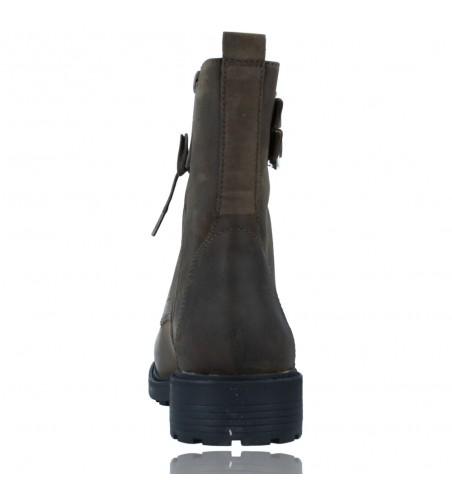 Calzados Vesga Botas Militares de Piel con Cordones para Mujer de Clarks Orinoco 2 Lace color marrón foto 7