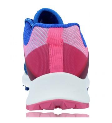 Calzados Vesga Zapatillas Deportivas de Running para Mujer de Merrell Mtl Long Sky J135156 color azul y rosa foto 7
