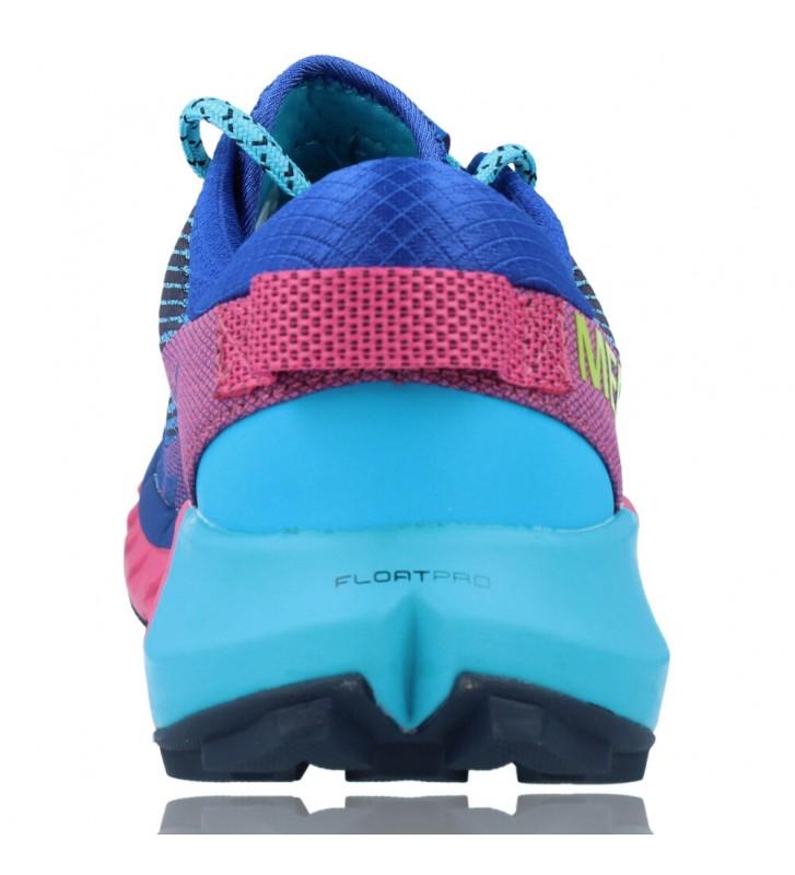 Calzados Vesga Zapatillas Deportivas Correr Trail Running para Mujer de Merrell Agility Peak 4 color azul y rosa foto 7