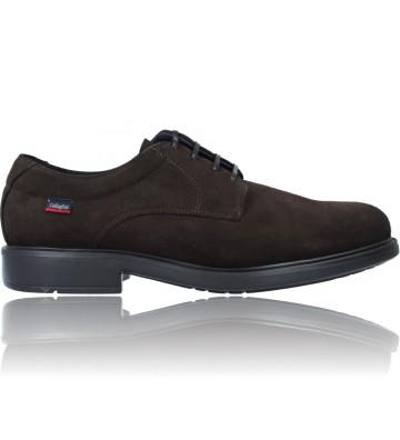 Calzados Vesga Zapatos con Cordones de Piel para Hombre de Callaghan Adaptaction Cedron 89403 color serraje marrón foto 1