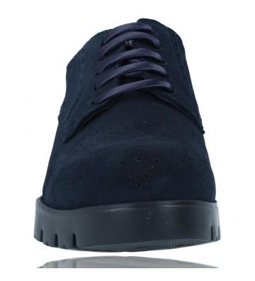 Calzados Vesga Zapatos Casual de Piel con Cordones para Mujer de Callaghan Adaptaction Haman 89880 color nobuck marino foto 3