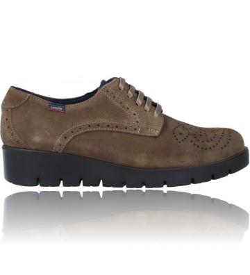 Calzados Vesga Zapatos Casual de Piel con Cordones para Mujer de Callaghan Adaptaction Haman 89880 color nobuck arena foto 1