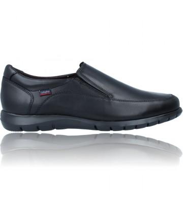 Calzados Vesga Zapatos Mocasines de Piel Casual para Hombre de Callaghan Adaptaction 81311 Sun color negro foto 1