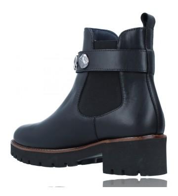 Calzados Vesga Botines Casual de Piel para Mujeres de Callaghan Adaptaction 13433 Freestyle color negro foto 6