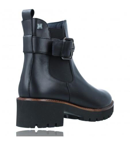 Calzados Vesga Botines Casual de Piel para Mujeres de Callaghan Adaptaction 13433 Freestyle color negro foto 8