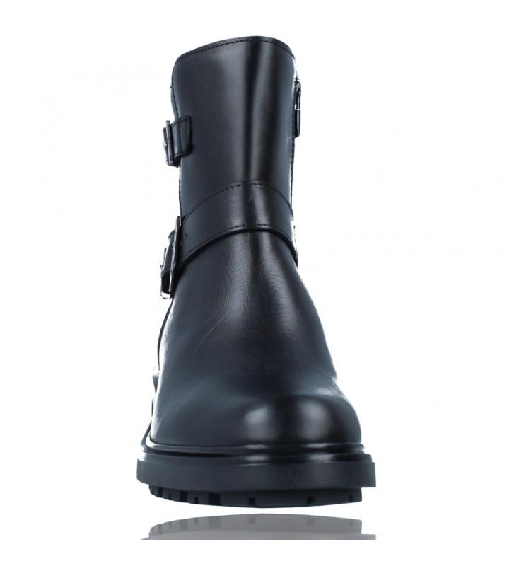 Calzados Vesga Botines Casual de Piel para Mujeres de Callaghan Adaptaction 29702 Adeyeba color negro foto 3
