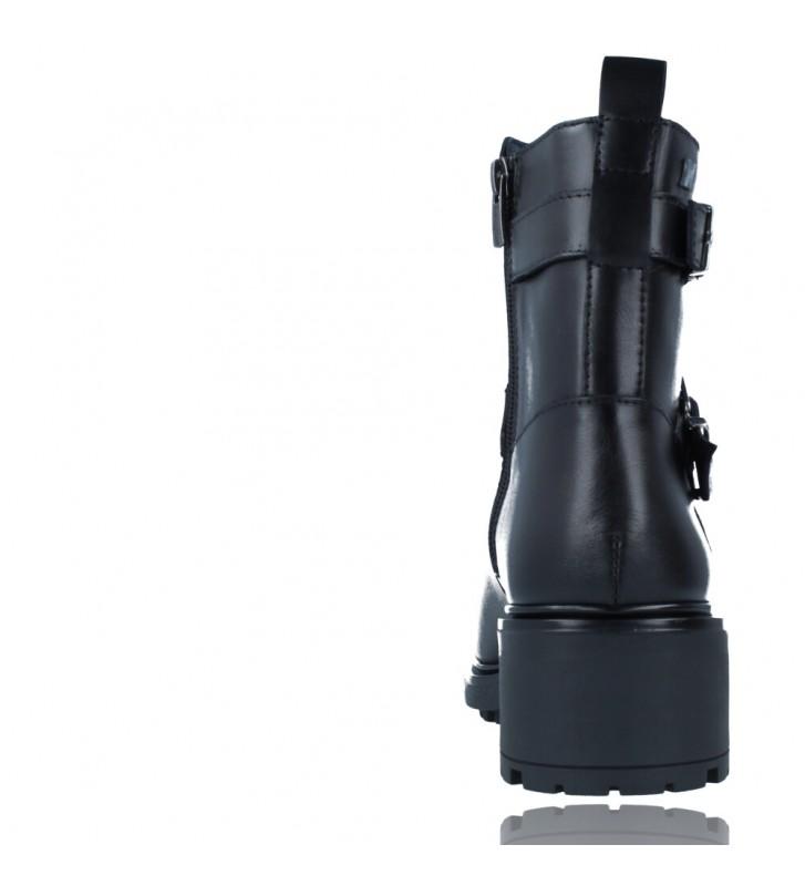 Calzados Vesga Botines Casual de Piel para Mujeres de Callaghan Adaptaction 29702 Adeyeba color negro foto 7
