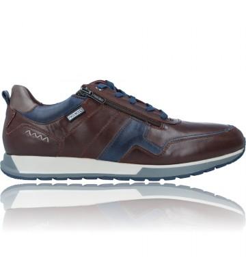 Calzados Vesga Zapatos Deportivos de Piel para Hombre de Pikolinos Cambil M5N-6010C1 color marrón foto 1