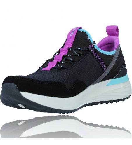 Calzados Vesga Zapatillas Deportivas Water Repellent para Mujer de Skechers 149080 TR ULTRA color negro foto 4