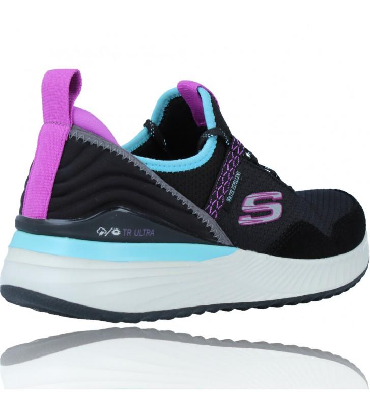 Calzados Vesga Zapatillas Deportivas Water Repellent para Mujer de Skechers 149080 TR ULTRA color negro foto 8