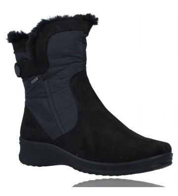 Calzados Vesga Botas Casual con Gore-Tex para Mujeres de Ara Shoes Munchen 12-48503 color negro foto 2
