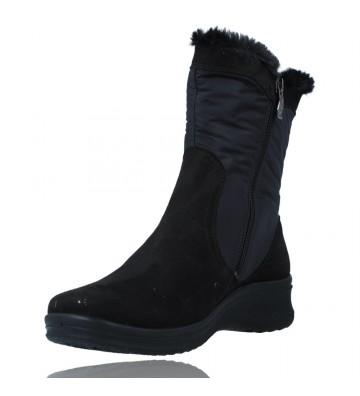 Calzados Vesga Botas Casual con Gore-Tex para Mujeres de Ara Shoes Munchen 12-48503 color negro foto 4
