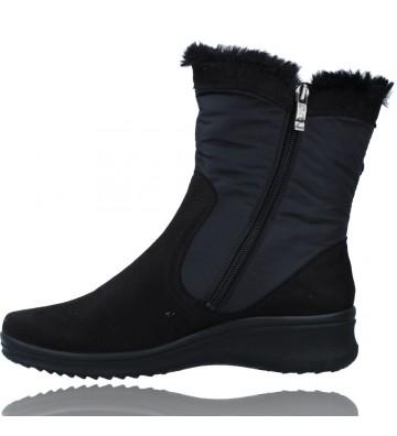 Calzados Vesga Botas Casual con Gore-Tex para Mujeres de Ara Shoes Munchen 12-48503 color negro foto 5