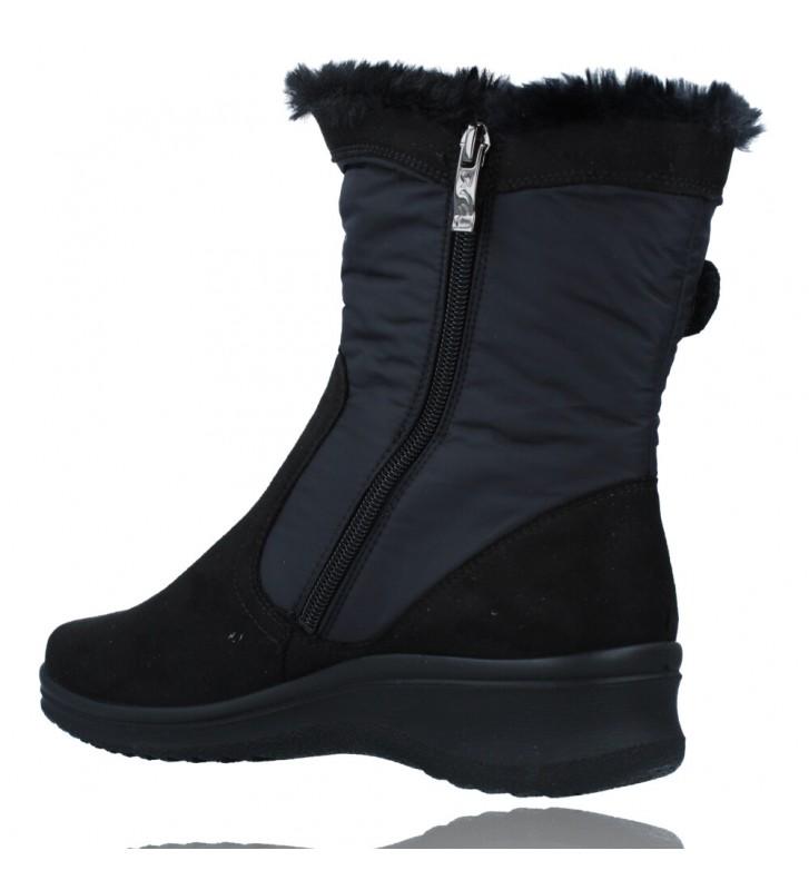 Calzados Vesga Botas Casual con Gore-Tex para Mujeres de Ara Shoes Munchen 12-48503 color negro foto 6