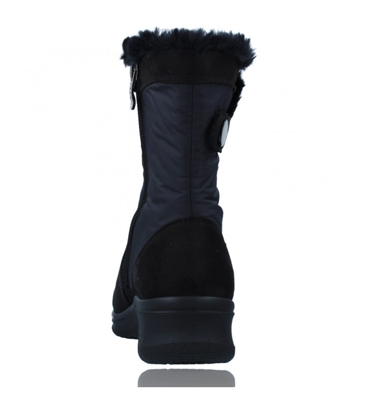 Calzados Vesga Botas Casual con Gore-Tex para Mujeres de Ara Shoes Munchen 12-48503 color negro foto 7