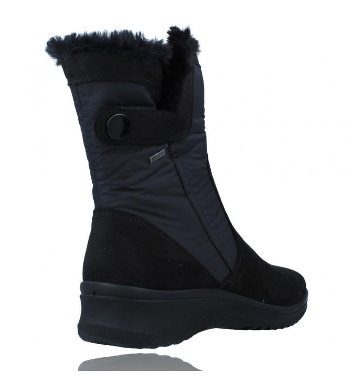 Calzados Vesga Botas Casual con Gore-Tex para Mujeres de Ara Shoes Munchen 12-48503 color negro foto 8