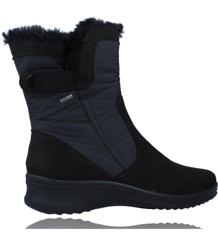 Calzados Vesga Botas Casual con Gore-Tex para Mujeres de Ara Shoes Munchen 12-48503 color negro foto 9