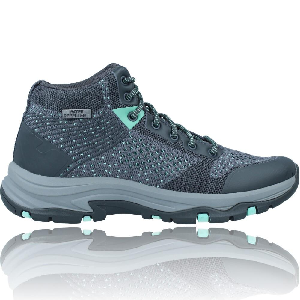 Calzados Vesga Botines Casual Water Repellent Para Mujer de Skechers 158351 Trego color gris foto 1