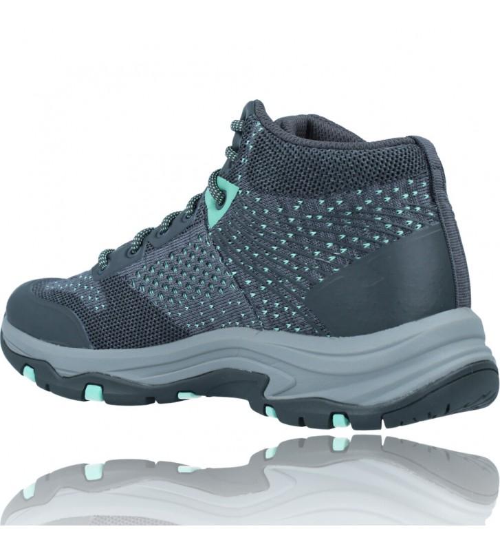 Calzados Vesga Botines Casual Water Repellent Para Mujer de Skechers 158351 Trego color gris foto 6