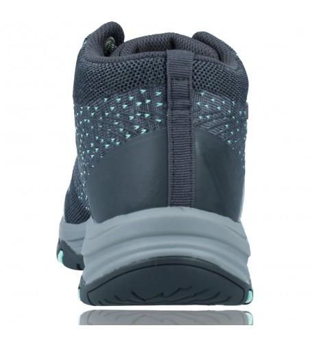 Calzados Vesga Botines Casual Water Repellent Para Mujer de Skechers 158351 Trego color gris foto 7