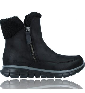 Calzados Vesga Botines Casual para Mujer de Skechers 44779 Synergy Collab color negro foto 1